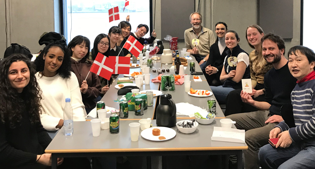 Tatsuya Sato from Ritsumeikan University is visiting Aalborg University with 5 students